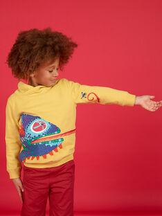Sweatshirt - Hoher Kragen - Enfant Garçon LOROUSWE / 21S902K1SWE102