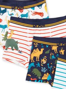 Posten sortierte Boxershorts für Jungen LEGOBOXSEM3 / 21SH12G1BOX001