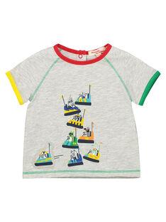Graues Kurzarm-T-Shirt FUCOTI / 19SG1081TMCJ906