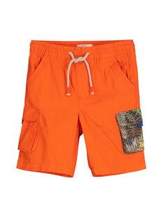 Bermuda-Shorts mit Taschen für Jungen FOYEBER2 / 19S902M3BERF519