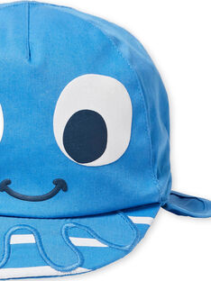 Baby Junge blaue Mütze LYUCASQ / 21SI10D1CHAC238