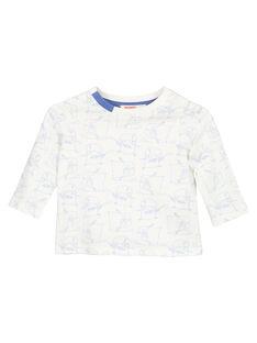 Langärmeliges Jersey-T-Shirt für Babys Jungen GUBLATEE2 / 19WG10S2TML001