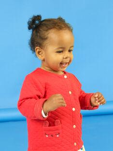 Rote Weste Baby Mädchen LIHACAR / 21SG09X1CAR505