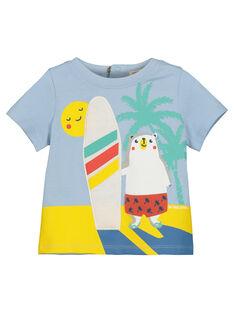 Bedrucktes T-Shirt für Babys Jungen FUCUTI1 / 19SG10N1TMC213