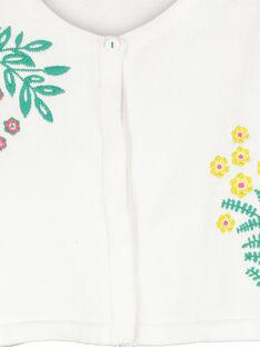 Bolero-Weste aus Baumwolle für Mädchen FACACAR1 / 19S901D1CAR000