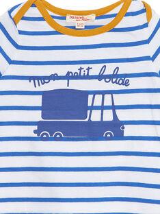 Blaues kurzärmeliges T-Shirt JUJOTI2 / 20SG10T2TMCC201