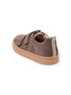 Turnschuhe taupe Junge Kind JGBASART / 20SK36Y4D3F803