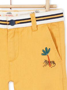 Gelbe Hosen für Jungen LOJAUPAN / 21S902O1PAN107