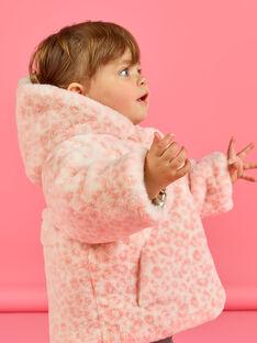 Baby Mädchen Wendekapuzenjacke in Gold und Rosa MIORDOUREV / 21WG0951D3EA006