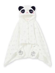 Kinderumhang Mädchen in weichem Boa-Panda-Einhorn LEFACAPAND / 21SH1111CPE001