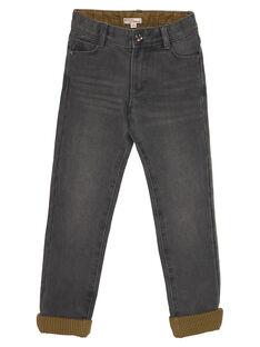 Gefütterte graue Jeans GOBRUJEAN / 19W902K1JEAK003
