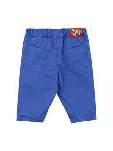 Blaue Babyhose für Jungen FUJOPAN2 / 19SG1032PANC207