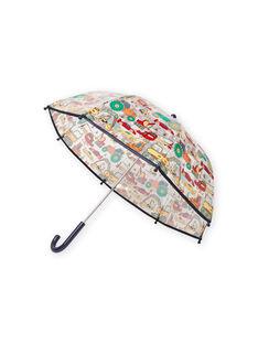 Transparenter Regenschirm für Jungen mit Fantasy-Motiven MYOCLAPARA / 21WI02G1PUI961