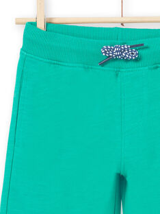 Bermudashorts grün Kind LOJOBER5 / 21S902F9BERG623