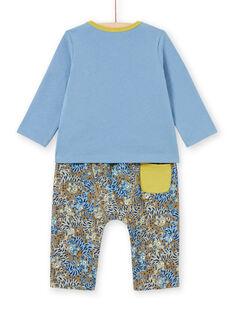 Baby Boy's Dschungel Tier T-Shirt und Hose Set MUKAENS / 21WG10I1ENS020