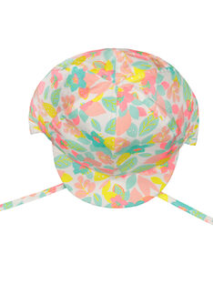 Geblümte Schirmmütze für Babys Mädchen FYICHA / 19SI09K1CHA099