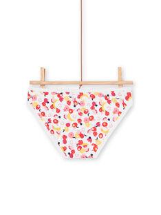 Set mit 3 rosa, weißen und roten Höschen für Kinder und Mädchen LEFALOTFRU / 21SH1127D5LF506