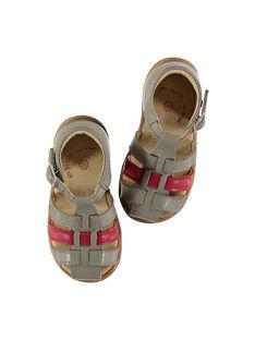 Sandalen aus Leder für draußen Babys Jungen FBGSANDBI3 / 19SK38D2D0E940