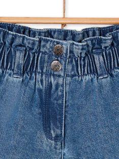 Blaue Denim-Shorts LANAUSHORT / 21S901P1SHOP274