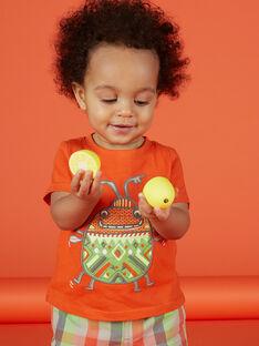 Kurzärmeliges T-Shirt für Babys Jungen FUYETI1 / 19SG10M1TMC400
