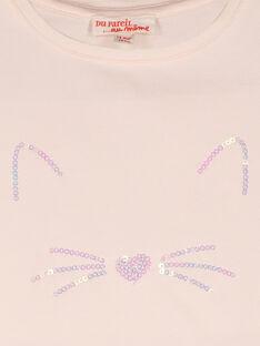 Kurzärmeliges T-Shirt für Mädchen FIJOTI3 / 19SG0933TMC307
