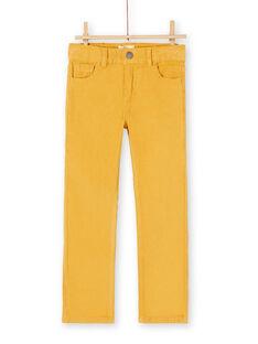 Light orange PANTS KOJOPAVEL1 / 20W90251D2B113
