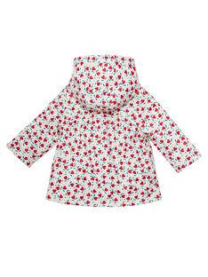 Baby-Regenmantel mit Aufdruck für Mädchen JIVIMPER / 20SG09I1IMP001