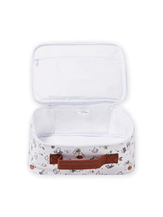 Fancy gedruckt Koffer für Baby Mädchen MOU1VAL / 21WF4241VAL001