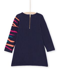 Baby Mädchen navy blau Kleid MATUROB3 / 21W901K1ROB070