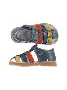 Sandalen aus Leder für draußen Babys Jungen FBGSANDTRI / 19SK38K2D0EC218