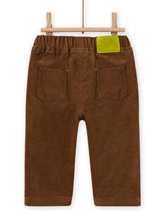 Baby Boy's braune Cordhose MUKAPAN2 / 21WG10I1PAN803