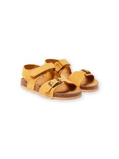 Gelbe Sandalen für Jungen LGNUJAUNE / 21KK3659D0E010