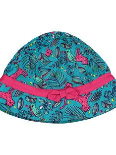 Bucket-Hut mit Dschungelmotiv für Babys Mädchen FYITUCHA / 19SI09F1CHA202