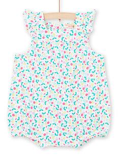 Weißer Baby Mädchen Strampler LIPLABAR / 21SG09T1BAR000