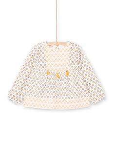 Weiße und gelbe Bluse mit Blumendruck LAPOECHEM / 21S901Y1CHE001