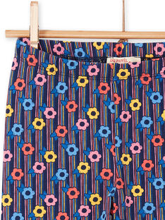 Mehrfarbige Leggings für Mädchen LYAHALEG / 21SI01X1CAL070