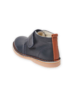 Baby Junge marineblau Stiefel MOBOOTVITAL / 21XK3672D0D070