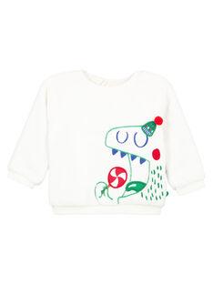 Weißer Sweater GUNOSWE / 19WG10V1SWE000