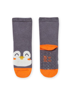 Graue Pinguin-Socken für Baby-Jungen MYUJOCHOB3 / 21WI1015SOQJ918