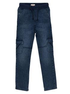 Elastische Cargo-Jeans für Jungen aus mittelschwerem Denim, Regular Fit JOESJEMAT1 / 20S90263D29P274