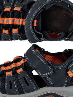 Sandalen aus zwei Materialien für draußen Jungen FGSANDIMA / 19SK36D2D0E070