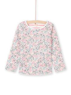 Langärmeliges Wende-T-Shirt für Mädchen MAKATEE1 / 21W901I4TML001