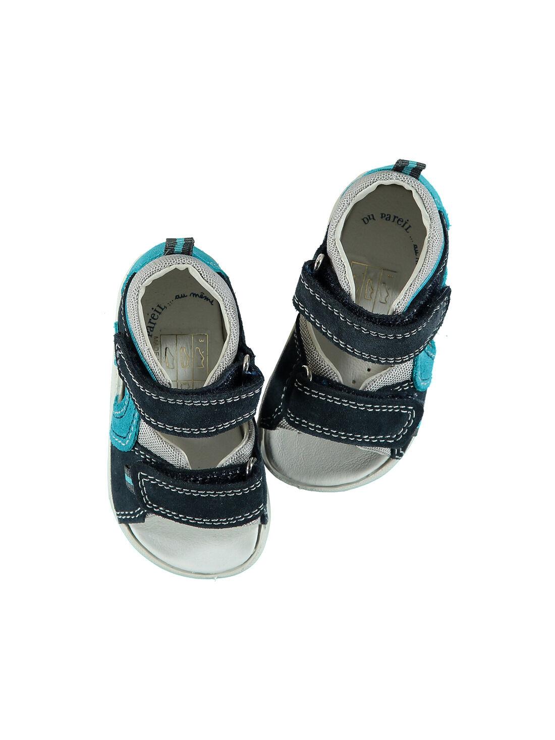 Sandalen aus Leder für draußen Babys Jungen