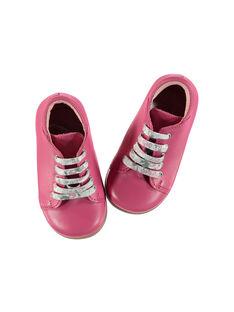 Stiefeletten aus Leder für draußen Babys Mädchen FBFBOTFUSH / 19SK3741D0F304