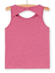 Tank-Top, Flamingo- und Palmen-Print mit Stickerei LATERDEB2 / 21S901V2DEB322