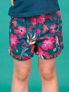 Hawaii-Blumen bedruckte Shorts LABONSHORT3 / 21S901W1SHO716