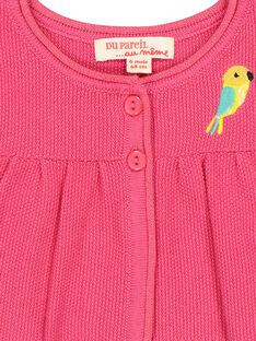 Baby-Bolero aus Leinen für Mädchen FICACAR1 / 19SG09D1CAR302