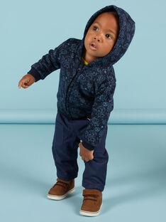 Blaue schwarze Weste mit Weltraummotiv für Baby Boy MUPLAGIL / 21WG10O1GILC243