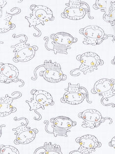 Gemischter Baby-Schlafanzug mit ausgefallenem Muster LOU1GRE3 / 21SF05H4GRE000