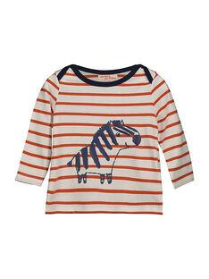 Langärmeliges Baby-T-Shirt für Jungen FUBATEE2 / 19SG1062TML099